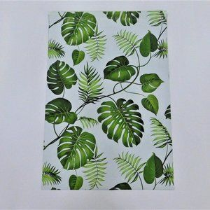 25 (10x13) NEW Banana Leaves Poly Mailers